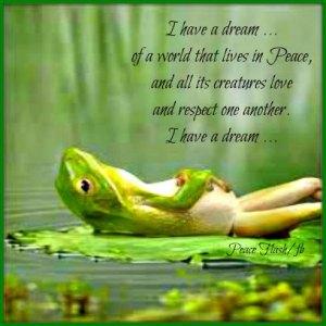 frog has a dream
